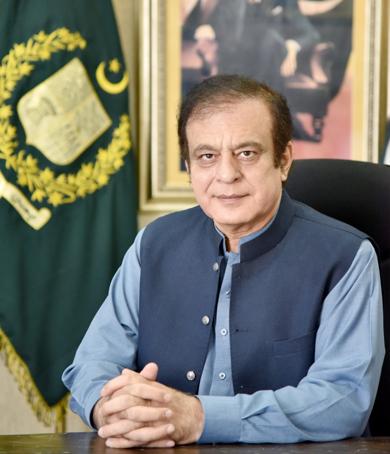 Syed Shibli Faraz (Federal Minister)